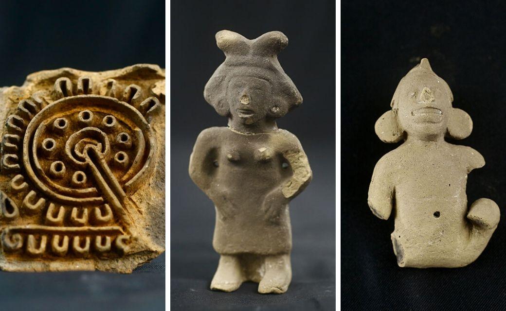piezas arqueologicas azcapotzalco