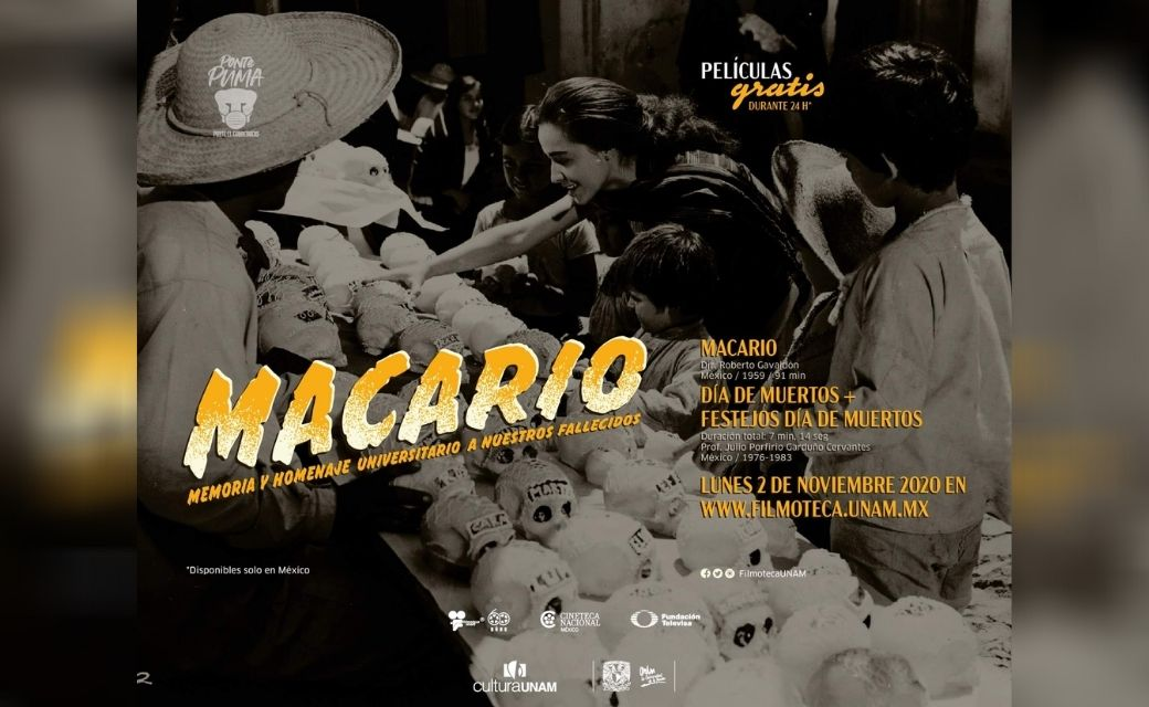 macario pelicula mexicana gratis online link filmoteca unam 2020