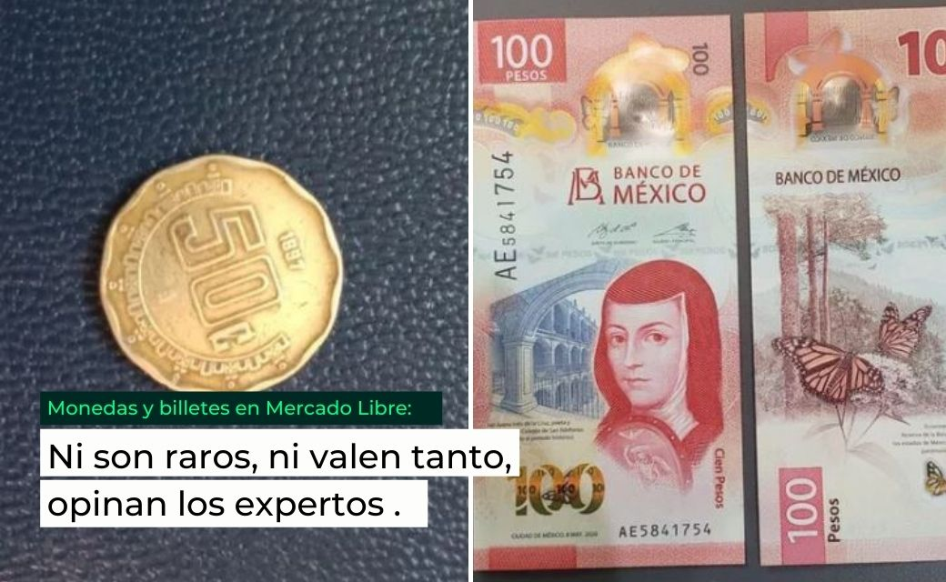 moneda de 50 centavos precio nuevo billete de 100 pesos precio mercado libre coleccionistas
