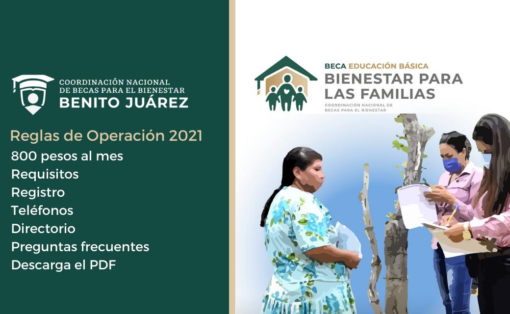 Beca Bienestar para las Familias de Educación Básica 2021_ Registro, papeles y dudas portada ok