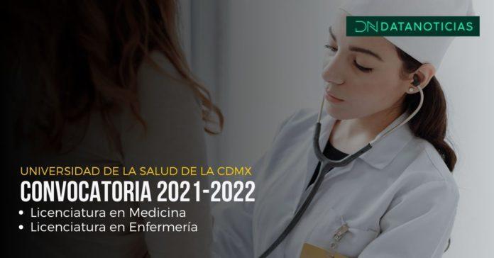 Inicia registro a la Universidad de la Salud en CDMX CONVOCATORIA REGISTRO PORTADA