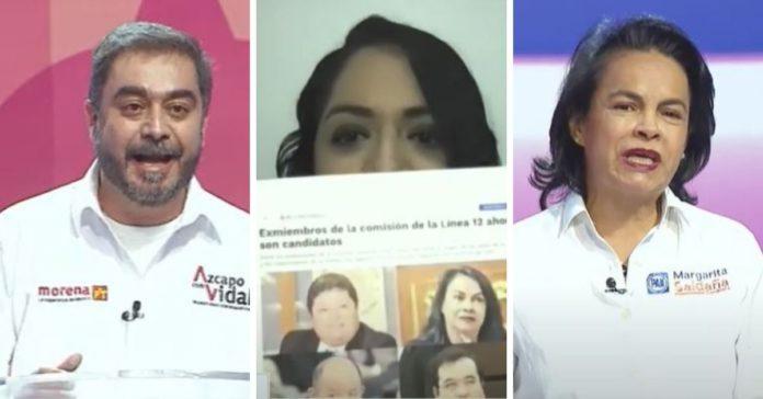 Debate Azcapotzalco. Vidal hace propuestas. Oposición intercambia ataques portada