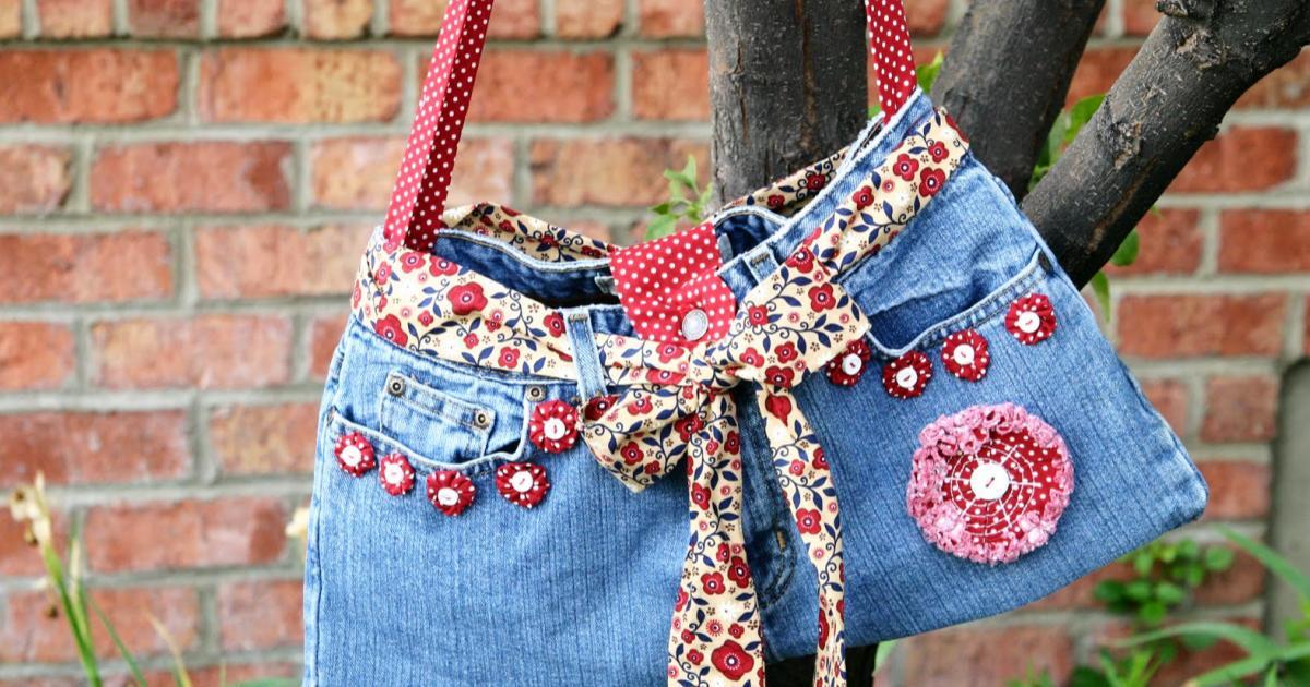 como-reciclar-tus-jeans-usados-bolsos