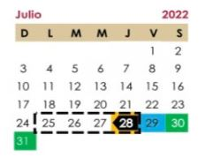 El ciclo escolar 2021-2022 terminará el 28 de julio