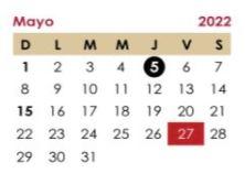 El 5 de mayo se suspenden las clases