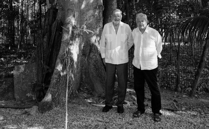 AMLO se reunió esta mañana con Carlos Slim