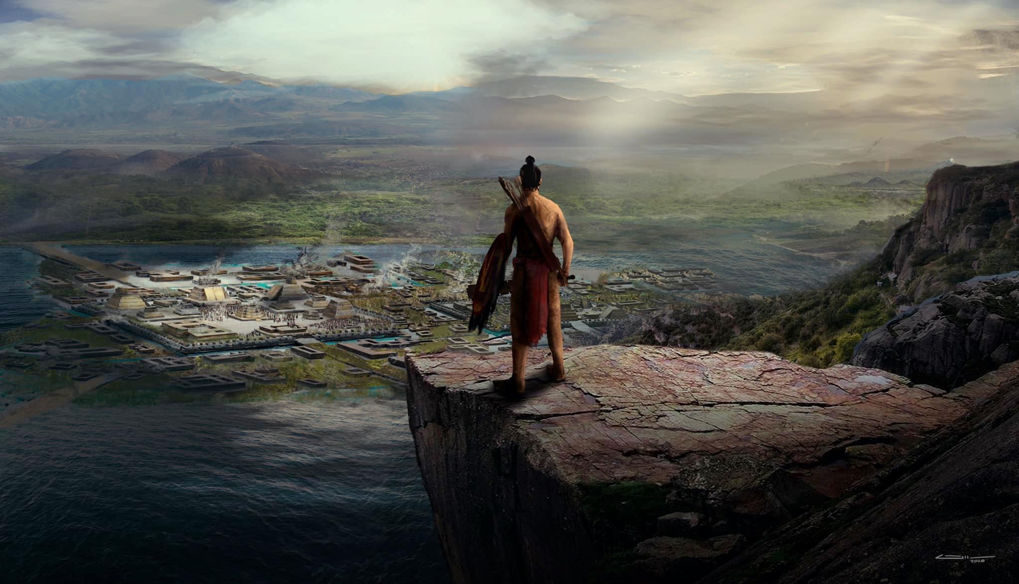 Mictlan El videojuego que te llevará a recorrer Tenochtitlán y el inframundo mexica portada 2