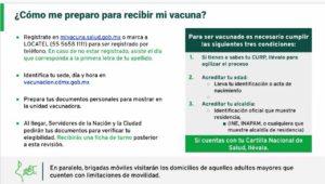 Recomendaciones para la vacunación Covid-19