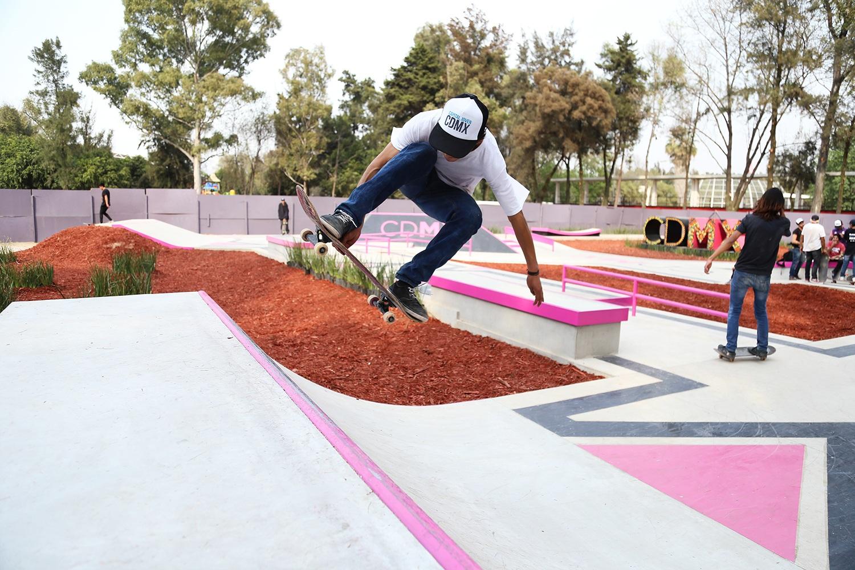 El skateboarding ya es considerado una disciplina olímpica   Foto: Gob CDMX