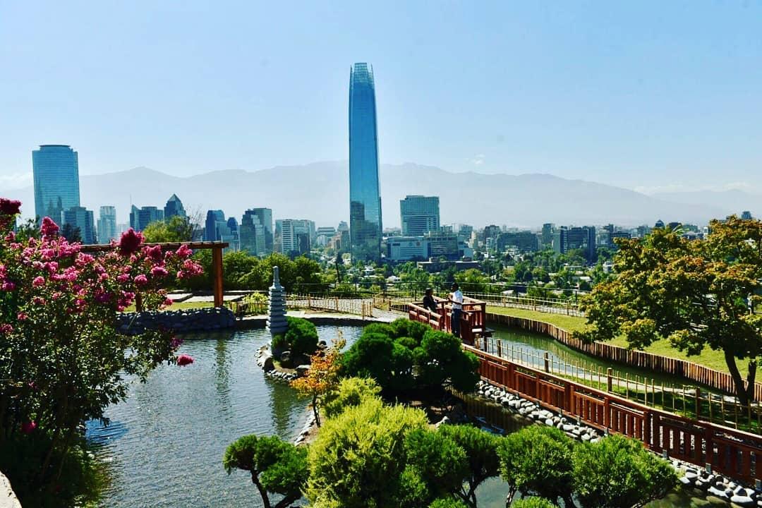 Parque metropolitano de Santiago de Chile   Foto: Facebook