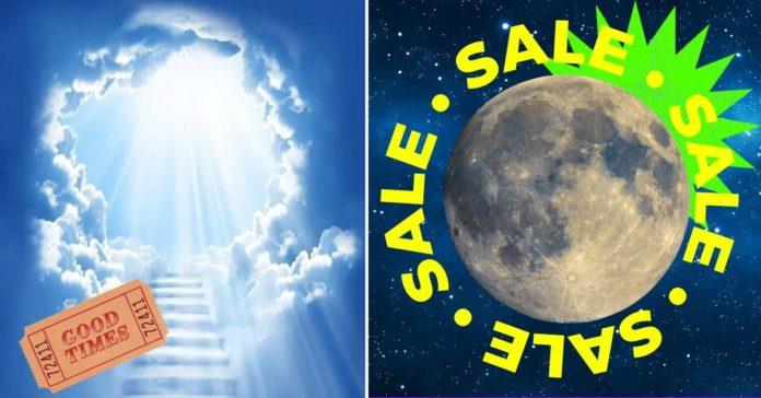 Comprar un terreno en la Luna o una 'entrada al Cielo' puede ser la peor inversión de tu vida portada