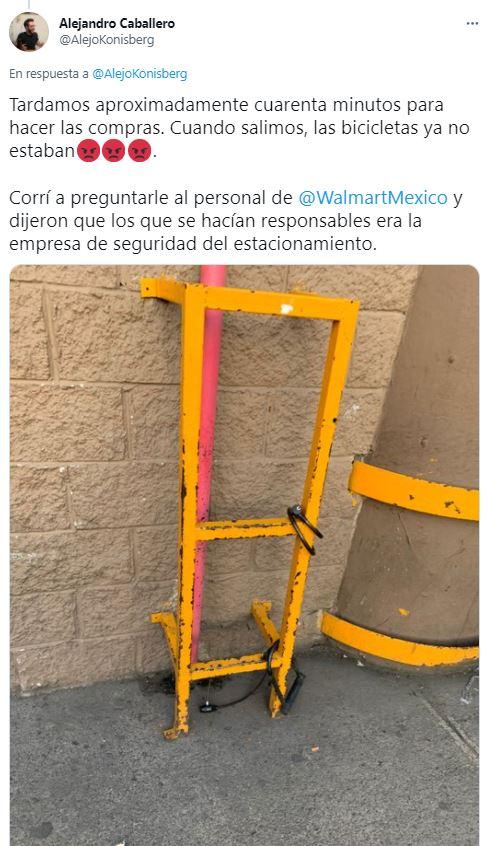 Cuidado al ir a Forum y Walmart Buenavista, roban bicis casi a diario 2