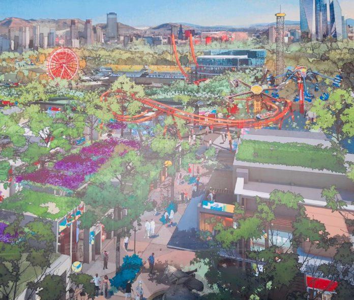 Así será el parque urbano Aztlán   Foto: Twitter Claudia Sheinbaum