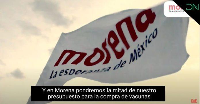 Morena regresó menos del 3% de su presupuesto para vacunas portada