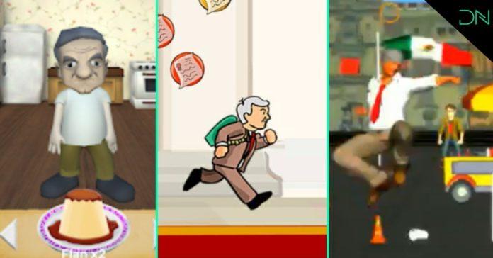 Pejegochi y otros juegos protagonizados por AMLO portada