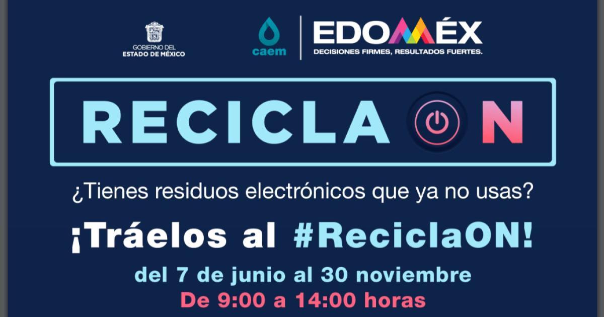 Residuos-electrónicos-Recicla-ON-Edomex