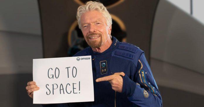 Richard-Branson-viaje-espacio-Omaze
