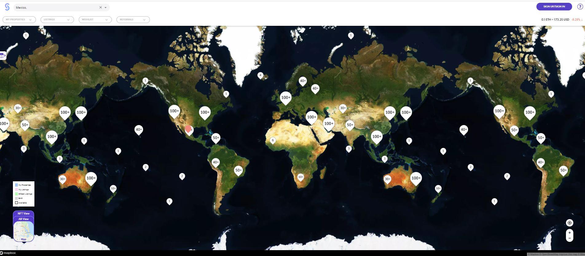 SuperWorld El mundo virtual en el que puedes comprar tu casa o cualquier parte del planeta 3