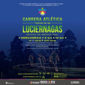 La carrera será por el Festival de las Luciérnagas
