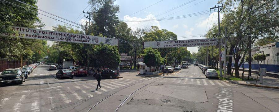 El Casco de Santo Tomás también tiene espacios para practicar en fines de semana o vacaciones   Foto: Captura de pantalla Google Maps