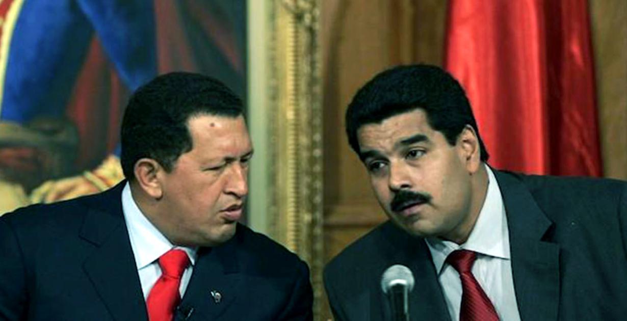 Hugo-Chávez-y-Nicolas-Maduro