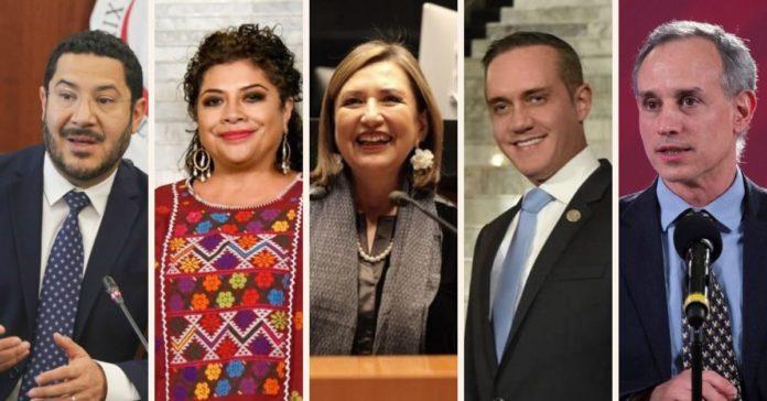 ¿Quién para la CDMX Estos son lo políticos que podrían ser candidatos en 2024 portada